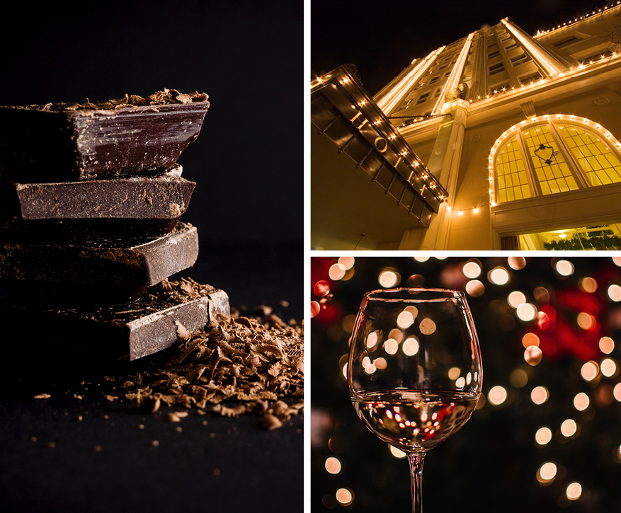 Chocolate Maker's Wine Dinner- Holiday Gift Guide