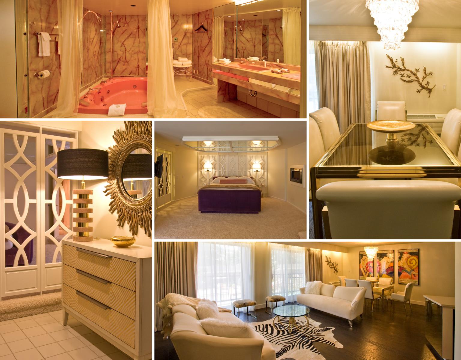 champagne suite grid